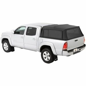 76308 35 Bestop Supertop Fabric Camper Top For Toyota Tacoma 5 Bed 2005 2018