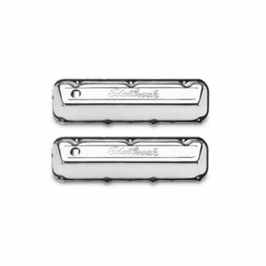 Edelbrock 4463 Signature Valve Covers 3 6 Chrome For Ford 429 460