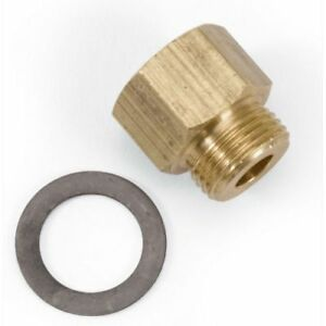Edelbrock 8090 Nverted Flare Fuel Line Fitting For Square Bore Afb Carbs 3 8