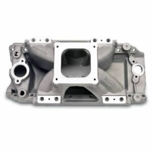 Edelbrock 29045 Victor Jr 454 o Efi Intake Manifold For Bb Chevy 396 502 V8