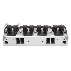 Edelbrock 61519 Performer Rpm Cnc 72cc Cylinder Head For Pontiac 62 79 389 455