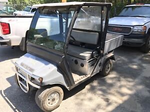 2009 Club Car Carry All 1 With Dump Bed Loaded