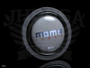 Momo Replacement Small Steering Wheel Grey Horn Button Horn sm grey Brand New