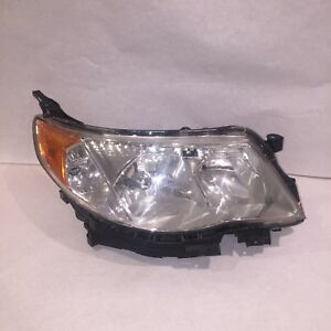 Subaru Forester Headlight Right Side 2009 2010 2011 2012 2013 Regular Oem