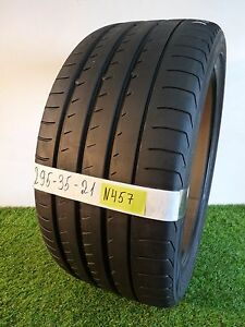 295 35 21 107y Used Tire Yokohama Advan Sport N 2 79 82 N457