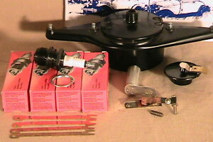 1928 1931 Model A Ford Dlx Tune Up Kit W Brass Contact Dist Body