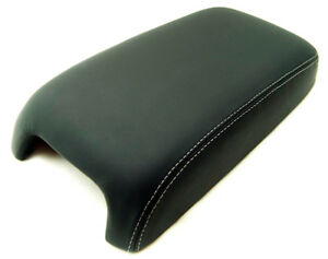 Fits 11 19 Dodge Charger 300 Gray Stitch Vinyl Center Console Armrest Cover