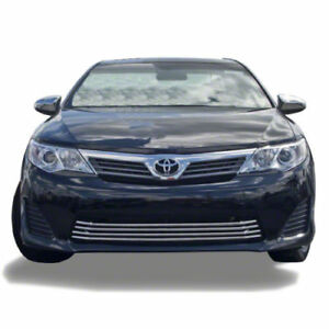 Free Shipping 2012 2014 Toyota Camry Chrome Grille Overlay bottom Only 200b