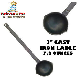 Lee Small Metal Ladle Precision Lead Bullet Casting Ladle With Wood Handle