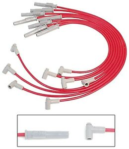 Msd Bbc Big Block Chevy 35379 8 5mm Spark Plug Wire Set Red
