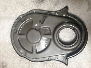 396 427 454 496 502 Chevrolet Chevy Bbc Timing Cover 1990 And Up 6 Bolt Vortec