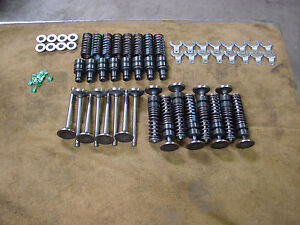 16 Ford Mercury Flathead 221 239 255 New Valves Guides Retainers Keepers Clips