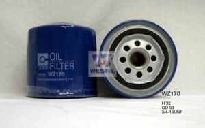 Wesfil Oil Filter For Nissan Patrol 4 2l 1992 02 92 1997 Wz170