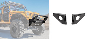Body Armor Ft Pro Series Bumper And Oem Fog Light Bumper Wings For Jeep Wrangler
