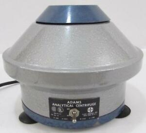 Clay Adams Analytical Centrifuge Works Ships Free Guaranteed