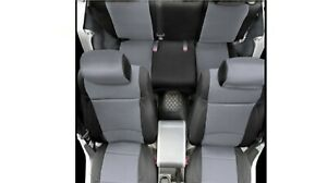 Smittybilt 471225 Set Of Black And Tan Seat Covers For 97 02 Jeep Wrangler Tj