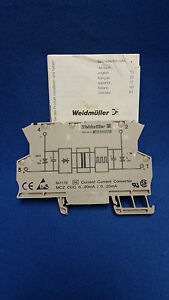 Weidmuller Mcz Ccc Current signal Converter 0 20ma new