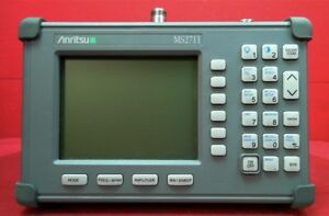 Anritsu Ms2711 05 Handheld Spectrum Analyzer 100 Khz To 3 Ghz