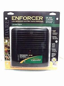 Dare Enforcer De300 Low Impedance Electric Fence Energizer Bnib