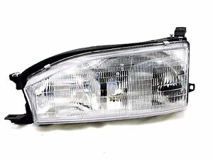 For 1992 1993 1994 Toyota Camry Lh Left Driver Headlamp Headlight Usa Built