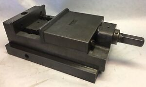 Vintage Brown And Sharpe No 2 Milling Shaper Vise 5 Jaws Opens To 2 3 4