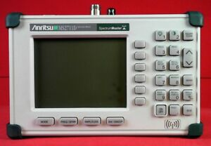 Anritsu Ms2711d 21 Handheld Spectrum Analyzer 100 Khz To 3 Ghz