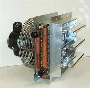Hanging Hydronic Unit Heater 55k Btu For Outdoor Wood Furnace Boilers