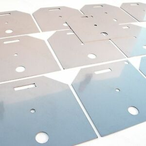105 X105mm 13 Plates Hho Generator 316l Stainless Steel Make Your Own Dry Cell