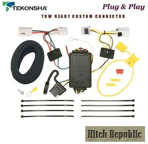4 Way Flat Trailer Hitch Wiring For 2008 2017 Nissan Rogue Except 118480