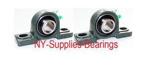 qty 2 1 Id High Quality Pillow Block Bearing Ucp205 16 Self Align 20