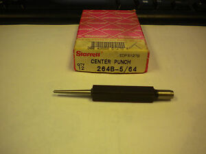 Starrett Center Punch 264b 5 64