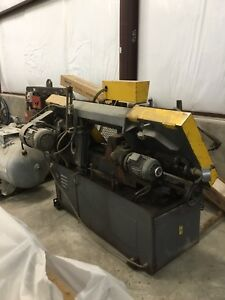 Clausing 350a Automatic Horizontal Band Saw