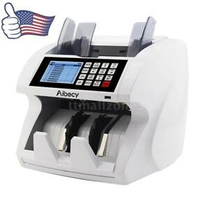 Pro Multi currency Cash Money Bill Counter Counting Machine Uv Mg Ir Bank Use