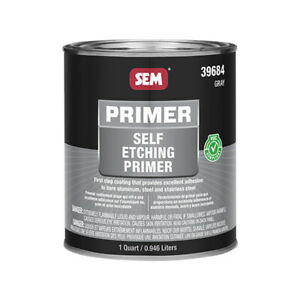 Sem Self Etching Primer 1 Quart Gray 39684