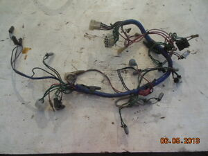 Mg Midget Instrument Dashboard Wiring Harness
