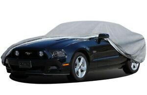 Oxgord Economy Outdoor Car Cover 4 Layers Fits Cars 175 190 Length Large