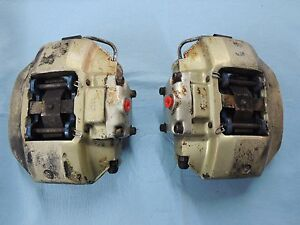 Used Original Genuine Porsche 911s 930 Turbo Matching Front Alloy Calipers
