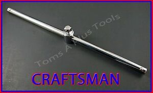 Craftsman Hand Tools 1 2 Dr 15 Socket Wrench Sliding T Handle Free Shipping