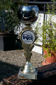 Very Nice Automobile Rally Trophy Adac Amc Peiting 1989 Prize
