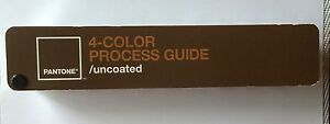 Pantone 4 color Process Guide Uncoated