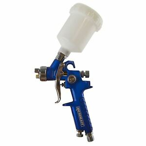 Mini Spray Gun Gravity Feed Hvlp Touch Up Gun 1 0mm Nozzle 125ml Pot