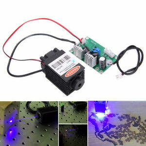 1 6w High Power Focusable 445nm 450nm Blue Laser Module With Ttl Driver Board