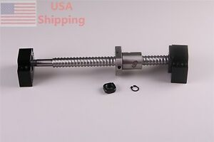 1x Ballscrew 1605 650mm c7 With 1set Bk12 Bf12 End Support For Cnc