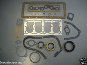 Farmall Tractor Complete C60 Engine Overhaul Gasket Kit Set Cub And Cub Loboy