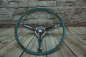 1967 1968 Camaro Steering Wheel Original Gm 9745770 Oem Survivor Aqua