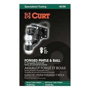 Curt Manufacturing 48190 Pintle Hook Trailer Hitch
