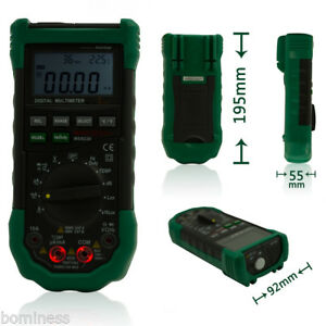 Mastech Ms8229 5in1 Auto range Multifunctional Diode Test Lcd Digital Multimeter