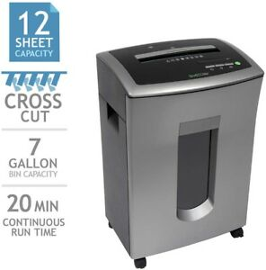 Goecolife Commercial grade 12 sheet Cross cut Shredder New Free Shipping