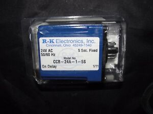 R k Electronics Ccb 24a 1 5s On Delay Timer New