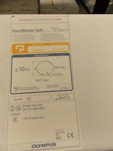 Olympus Disposable Electrosurgical Snare Sd 240u 10 box Of 10 Price To Sell